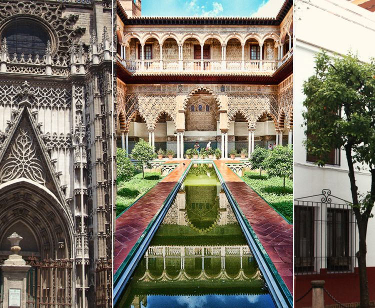 Guided Tour and Tickets to the Alcazar and Cathedral of Seville + Tour of the Santa Cruz Quarter