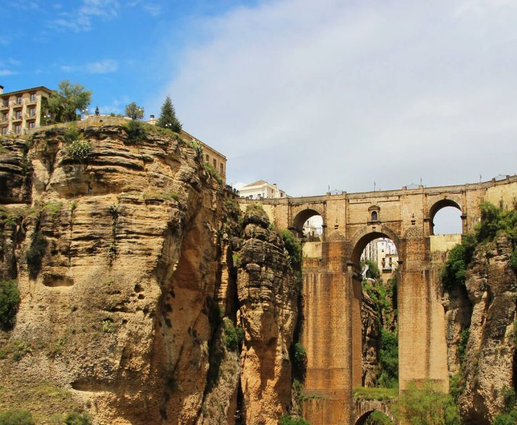Group excursion from Seville to Ronda: Bulls and Wines