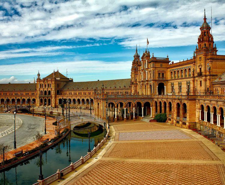 Seville Santa Cruz and Plaza de España Private Tour