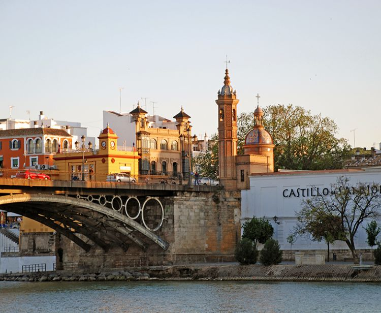 Jewish quarter and triana Seville