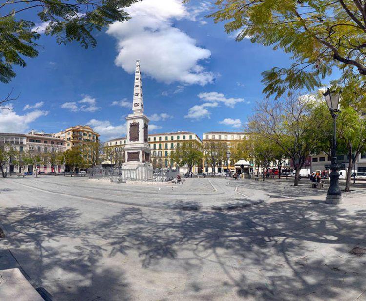 Malaga free tour monuments