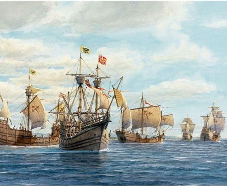 Magellan and Elcano Tour. First round-the-world tour