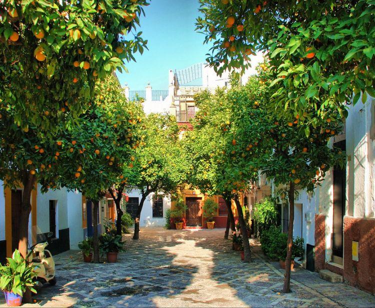 Dos barrios con Historias Santa Cruz y Triana