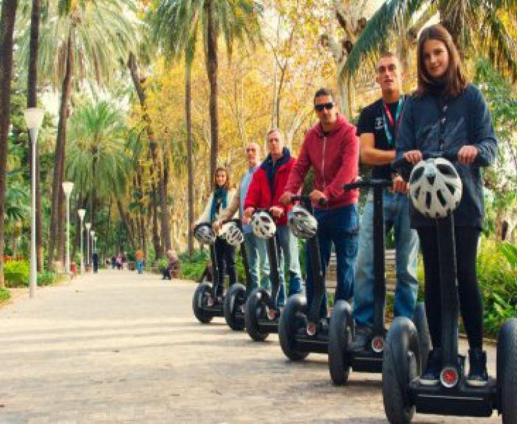 Tour en Segway por Málaga y Gibralfaro