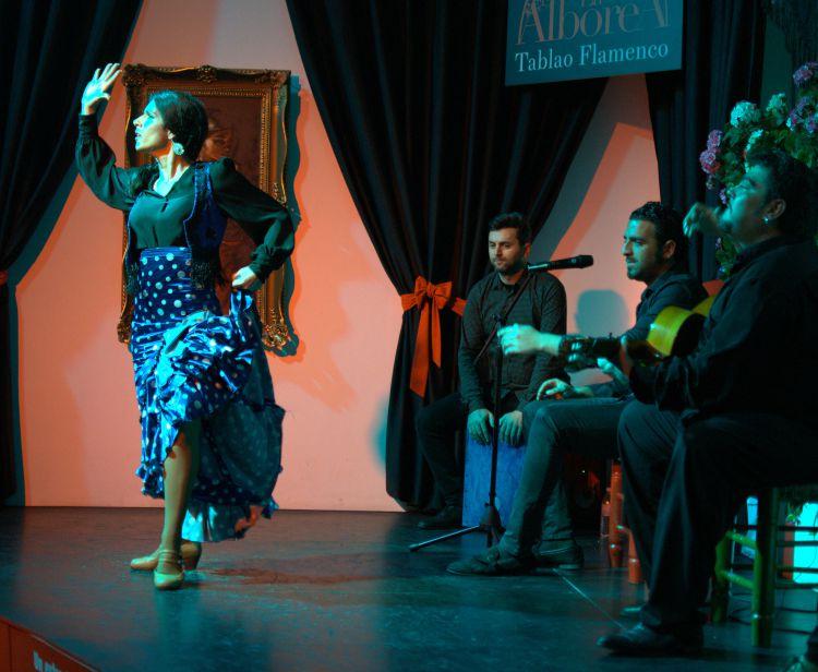 Espect culo de flamenco en sevilla for Espectaculos en sevilla