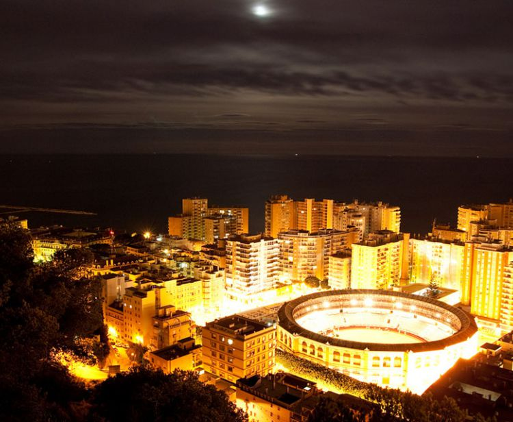Night tour Malaga