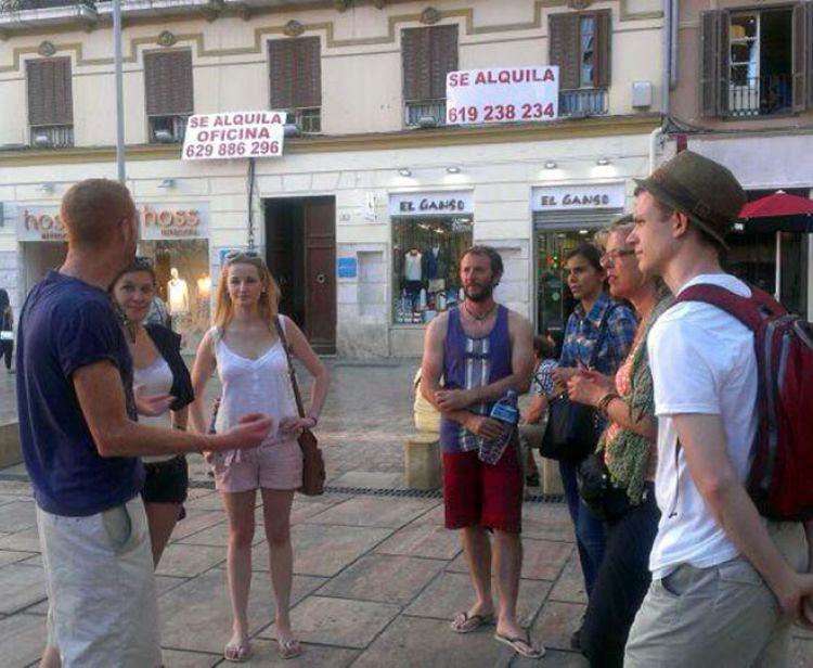 Free tour sunset Málaga