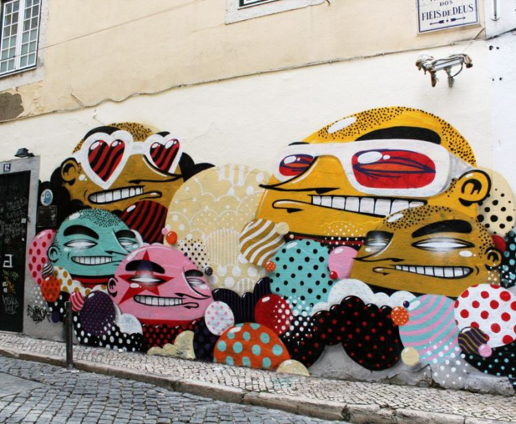 Tour de los Graffiti Lisboa