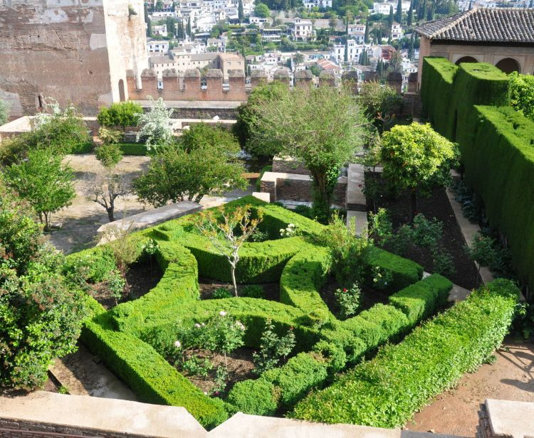 Entrée à l'Alhambra et l'Albaicin