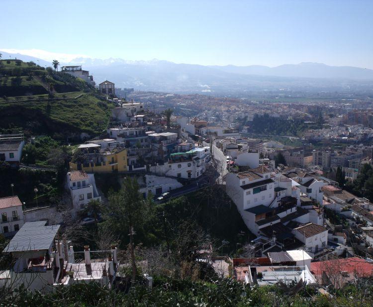 Tour d'Albaicin et Sacromonte à Grenade
