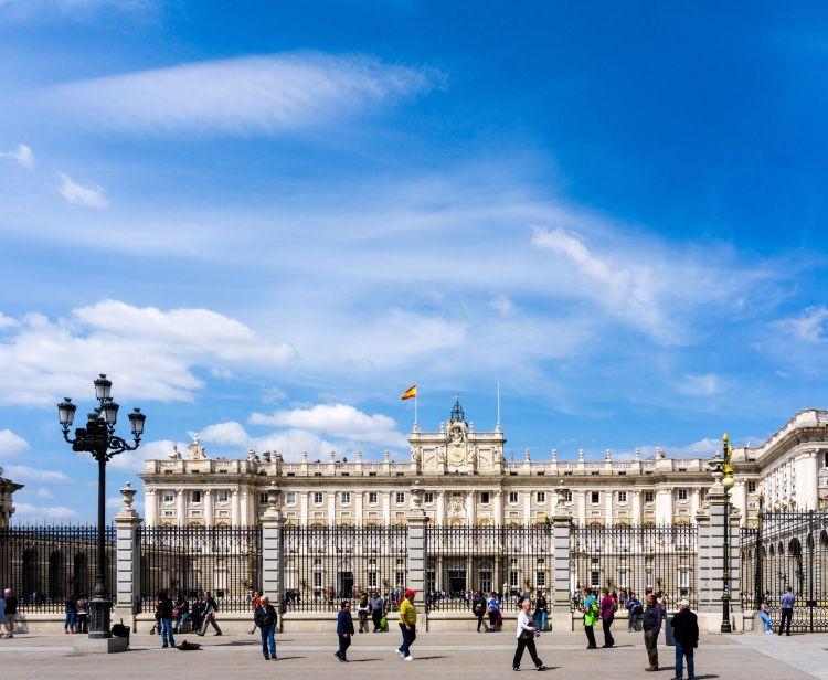 Visite guidée au Madrid Royal Palace