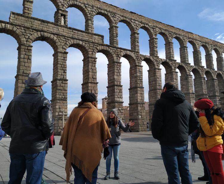 Excursion d'Avila à Segovia et El Escorial et arrivée à Madrid.
