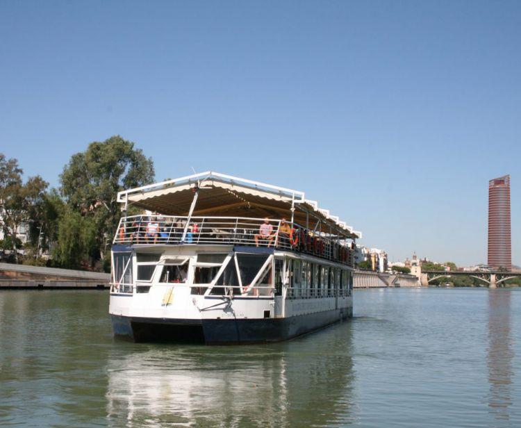 Croisière sur le fleuve Guadalquivir de Séville avec SPA