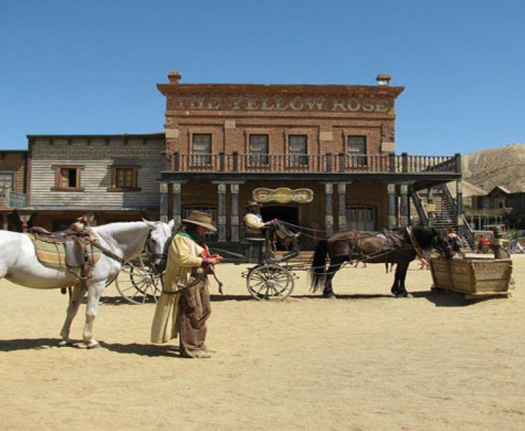 La meilleure ville occidentale d'Almeria