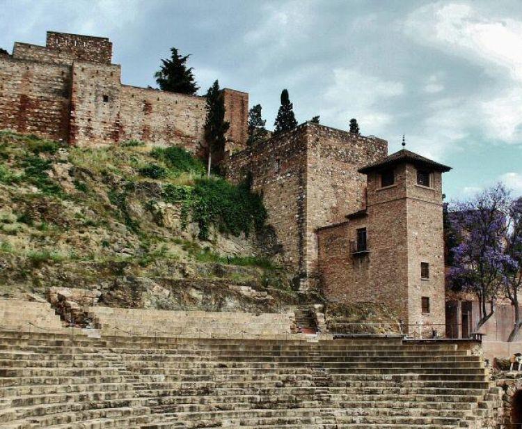 Visite monumentale (Alcazaba - Théâtre romain - Cathédrale)