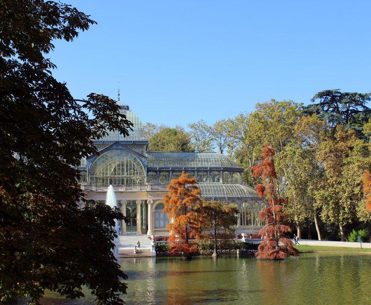 Visite du palais de Cibeles et du parc Retiro