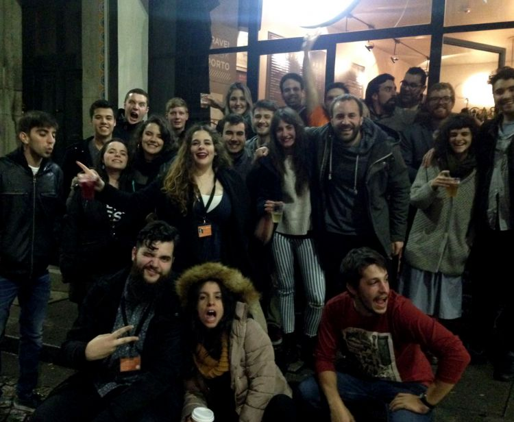 Pub crawl Oporto