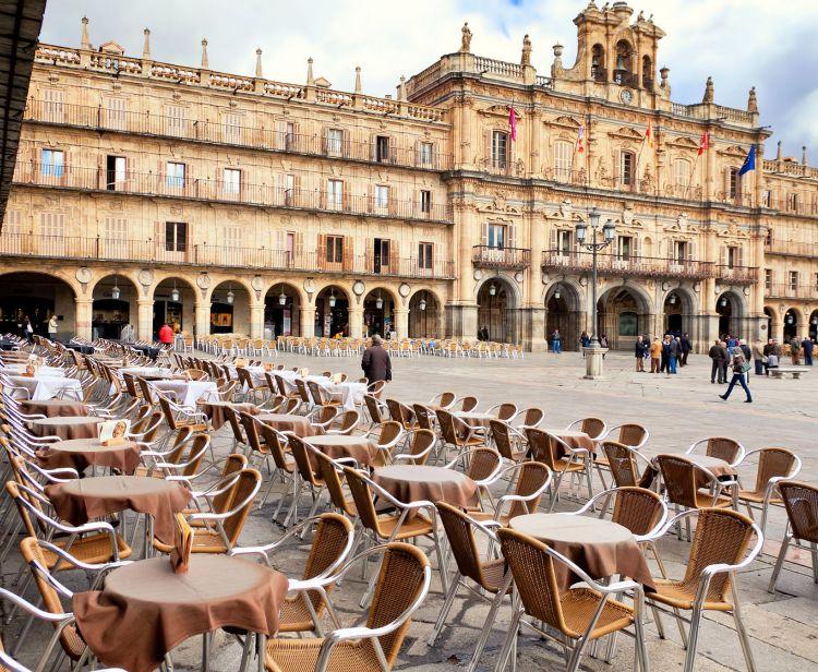 Excursion d'une journée de Madrid à Avila et Salamanque