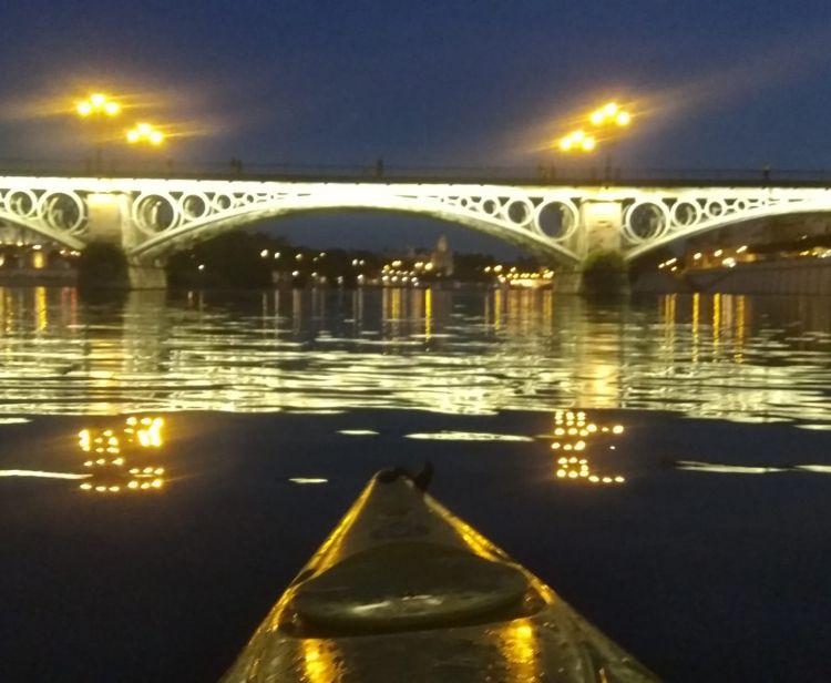 Kayak dans le Guadalquivir
