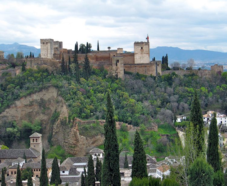 Day trip from malaga to granada