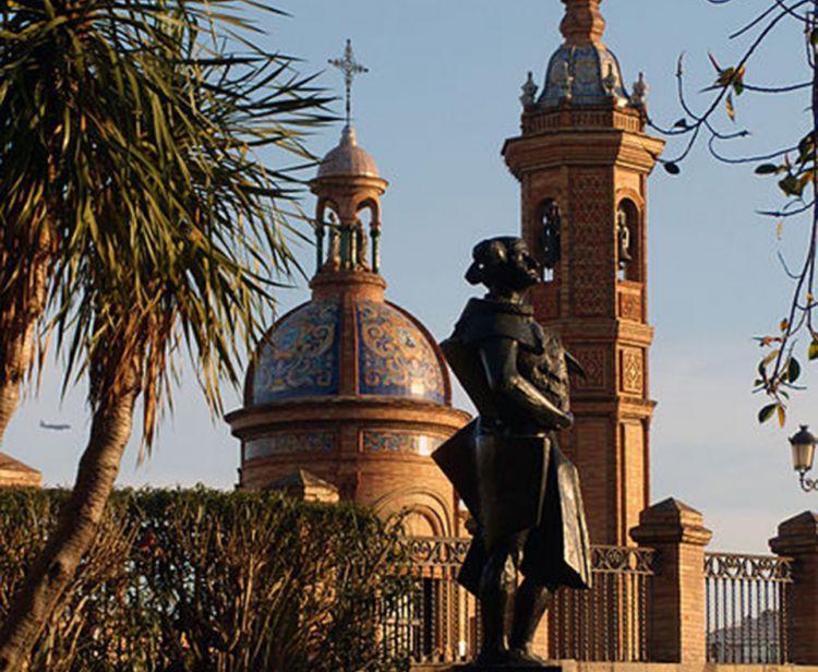 Triana and bullfight ring Seville