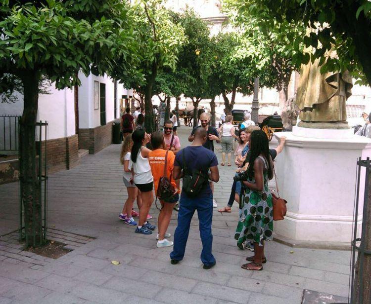 Jewish quarter and triana Seville