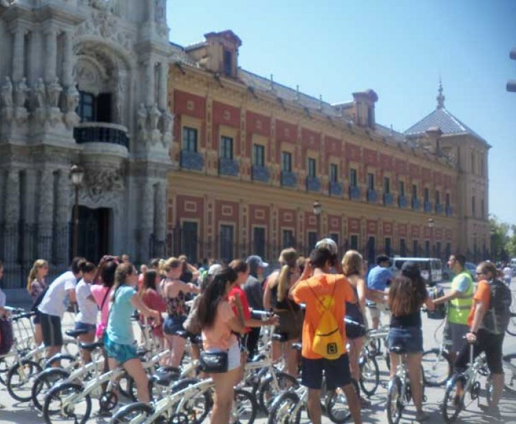 Bike tour seville
