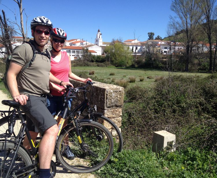 Seville Countryside bike tour
