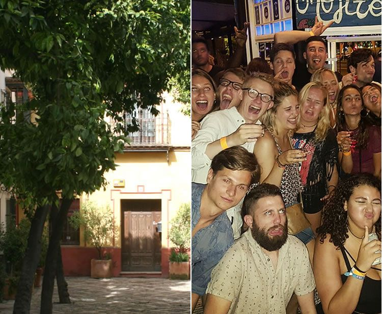 Seville Night Life Pub Crawl