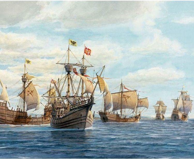 Magellan and Elcano Tour. First round-the-world tour