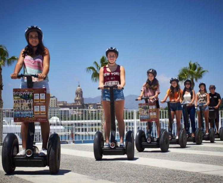 Tour di Malaga e Alcazaba in Segway