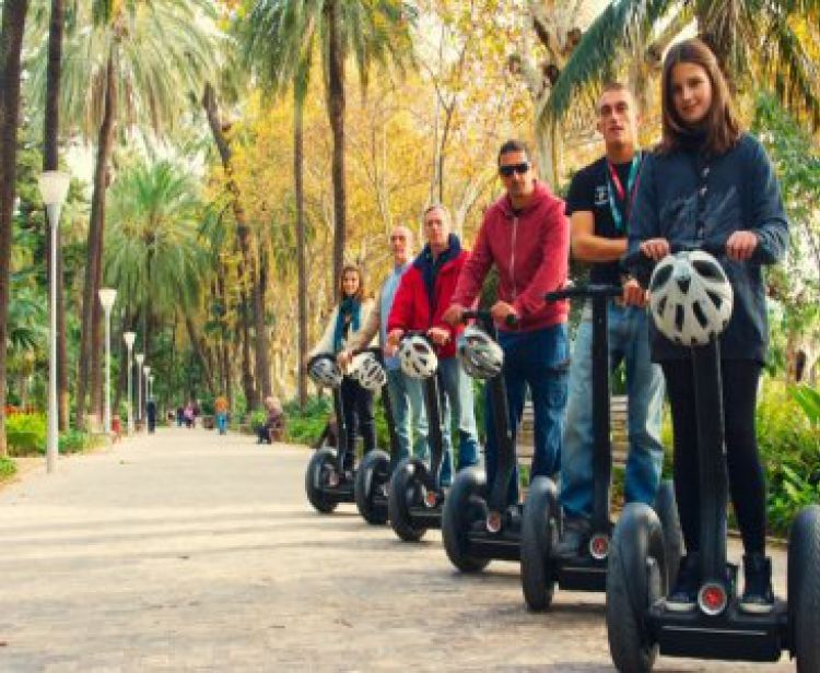 Tour di Malaga e Gibralfaro in Segway