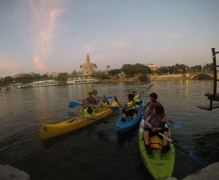 Kayak sul Guadalquivir