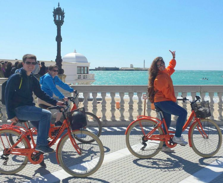 Bike tour cadiz