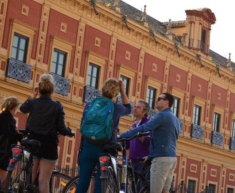 Tour in bici per Siviglia