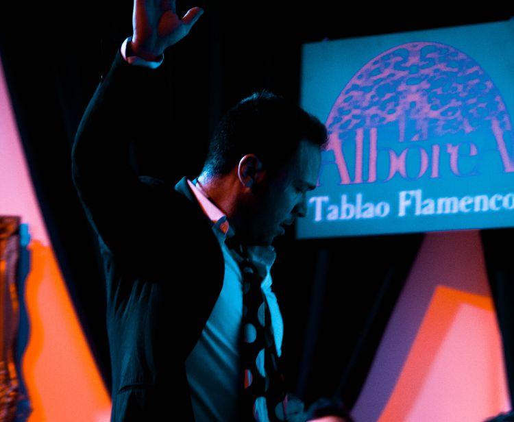 Flamenco nel centro di Granada con Assortimento di Salumi Iberici