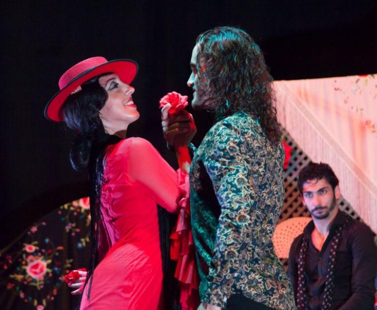 Tour di flamenco + arena