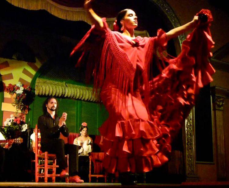 Cena + Spettacolo di Flamenco Cadiz