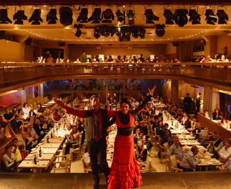 Фламенко + ужин