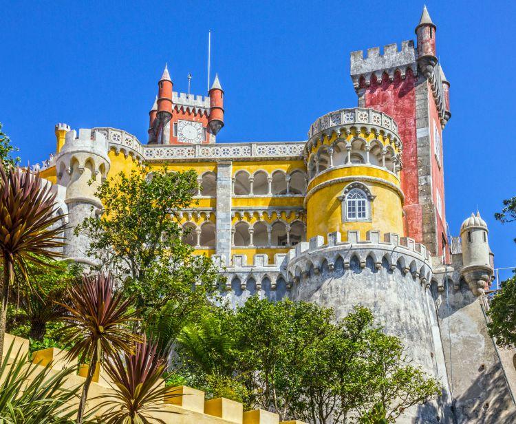 Однодневная экскурсия из Лиссабона в Синтру