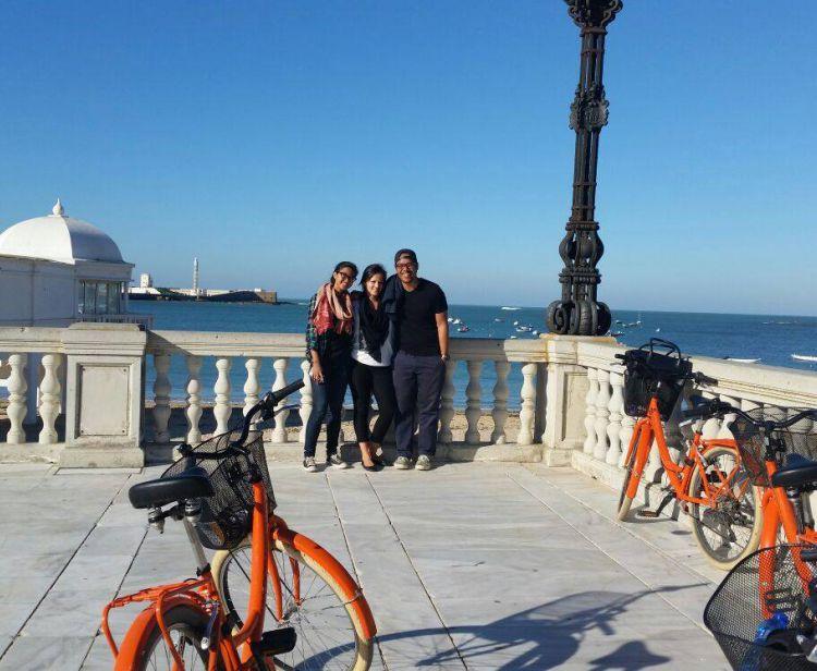 Кадис на велосипеде